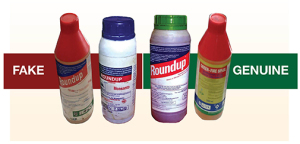 These fake products were recovered from unscrupulous traders and later used during a forum of Agri-Focus Uganda, a growing network of farmers' organizations, to sensitize members of dangers of counterfeits in 2012.