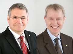 Bernd Naaf – Head of Business Affairs & Communications as of June 1, 2015 / Dr. Mathias Kremer – Head of Strategy & Portfolio Management as of June 1, 2015; credit: Bayer CropScience