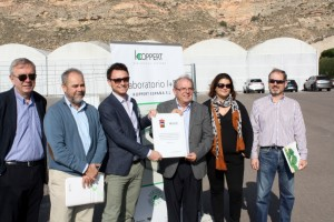 Koppert Biological Systems, and members of the local government were on hand to help lay the foundation stone for a sustainable building in the Spanish town of Vícar.