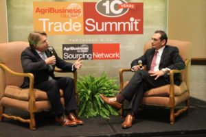 Stephen Pearce, Arysta LifeScience, responds to questions from AgriBusiness Global Editor, David Frabotta