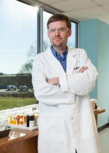 Andrew Pearson, Syngenta, Formulation and Analytical Development Manager for North America