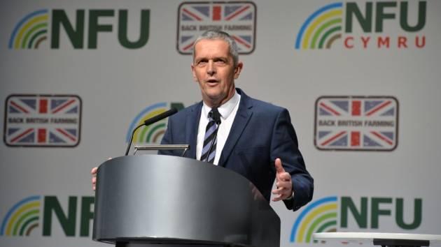 National Farmers union vice president Guy Smith