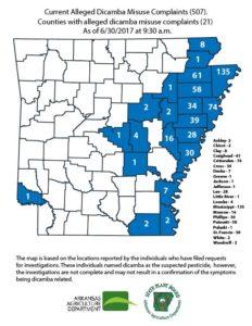 Arkansas Governor Moves to Ban Dicamba