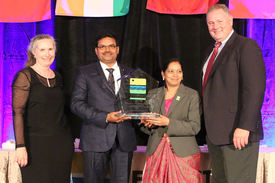 Indian Ag Retailer Honored with Ambassador of Respect Award