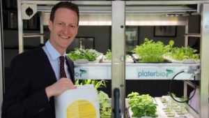 Plater Bio Develops 'Complete Nutrient Solution'