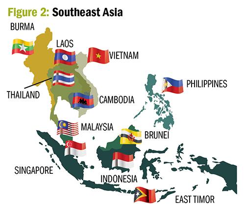 Figure 2. Southeast Asia. ©Agribusinessglobal.com